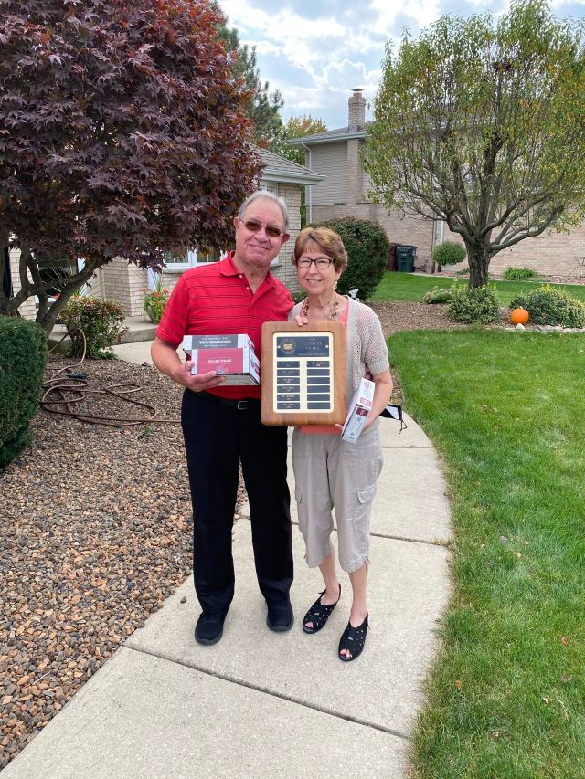 2019-2020 Jim Hofbauer Award winner Carl Holmquist